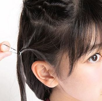 适合14岁的盘发发型 最新小孩盘发发型(2)