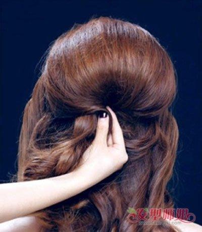 教你如何盘新娘发型 婚礼新娘盘头发型图片教程图片