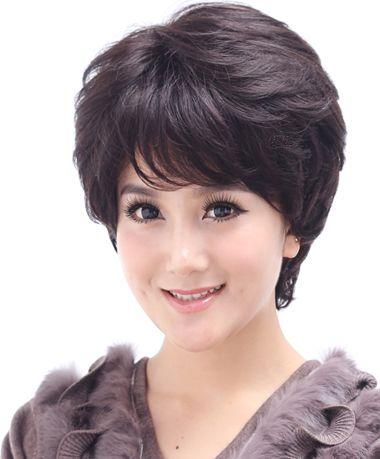 中年烫什么发 中年女人烫发头型图片_发型师姐图片
