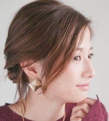 流行美最新发型短发怎么盘 中短盘头发型图片(7)图片