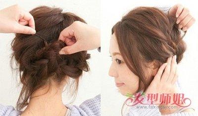 长脸盘适合梳什么样的头发 长发盘头发简单好看的步骤图片