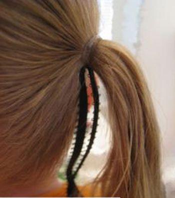 短头发的宝宝怎么扎小辫 短头发的扎辫子方法_发型师姐图片