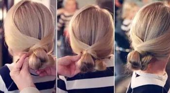 3岁小女孩怎么扎头发 小女孩公主辫子发型扎法图解(4)图片