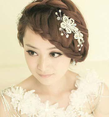 最新盘头发型图片 女生个性发型盘头(2)