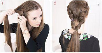 头发很少盘怎样的发型图片 适合头发少的盘头发型图片