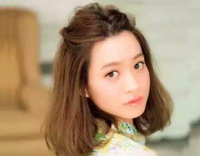 瓜子脸女孩梳什么发型好看 瓜子脸女孩子怎么样打理短发好看点(3)