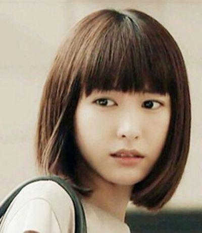 短发女孩子头像