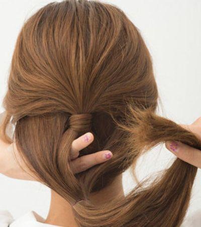 女生又长又直的头发适合扎什么样子的发型 直长发发型图片