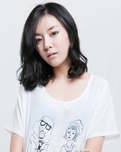 女用品脸护发啥黑发发型发型脸适合鸭梨(4)适合的烫发鸭梨图片