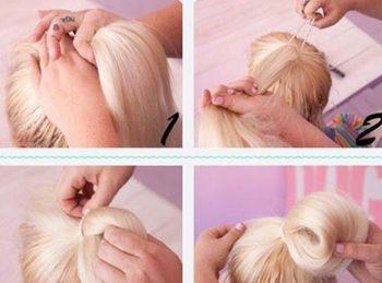 小学生头发怎么盘简单而有步骤