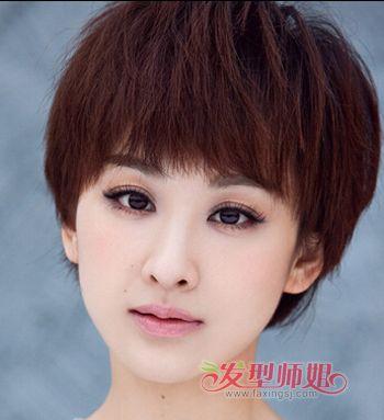 发型脸型 圆脸 >> 什么样的发型适合胖圆脸型 脸胖发型的图片  胖圆脸图片