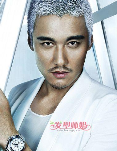成熟男人发型大全 中年男士平头发型(3)