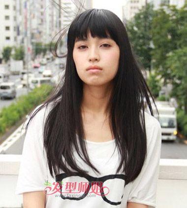 哪种脸型适合剪齐刘海 齐刘海适合什么样的脸型 发型师姐