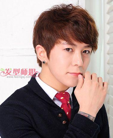 韩版短发发型男_男生短发韩版发型 韩国男明星短发发型_发型师姐