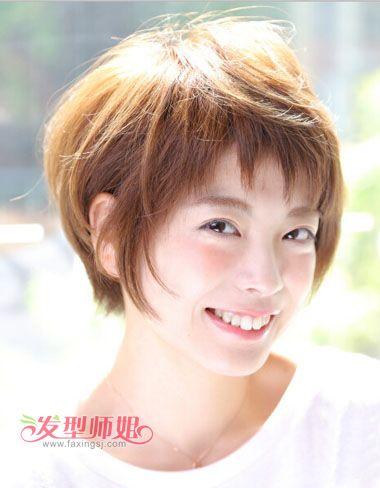 初中短发可爱发型 初中生女生短发发型图片
