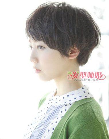 初中短发可爱发型 初中生女生短发发型图片(2)