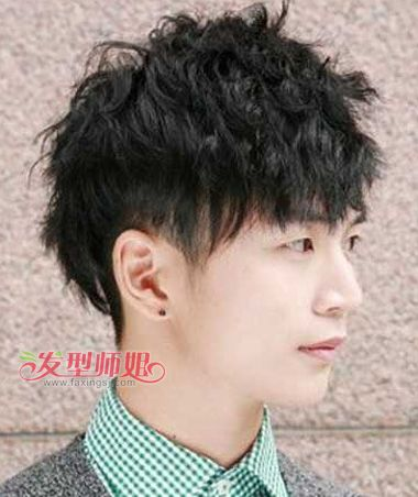 明星发型两边短_两边剃掉的发型短发_两边鬓角剃掉图片