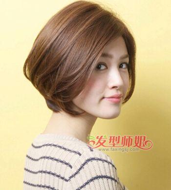 中老年最适合的短头发 中老年短发烫发发型图片_发型图片