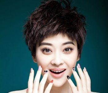 中老年最适合的短头发 中老年短发烫发发型图片(4)