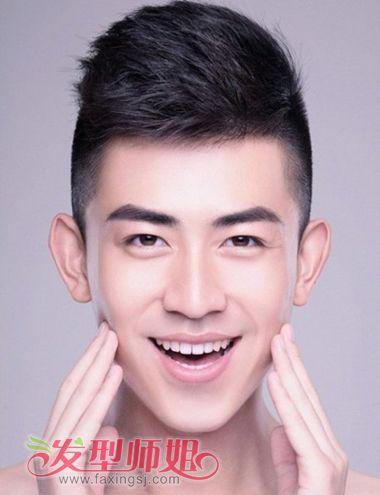 男生中凸脸好看的发型 男士脸部立体感强的适合什么发型图片