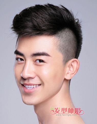 男中学生发型图片短发(4)