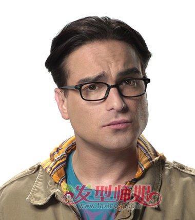 胖人后梳中长发短烫发发型-偏胖男士适合的发型 成熟胖男人发型 发型