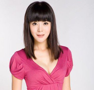女生直�yaY�Y��&_额头短窄中长直发发型 普通女生直发型(2)