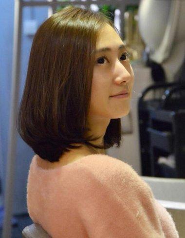 齐肩短发内扣发型 短发内扣发型图片
