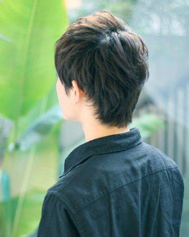 男生短头发有什么发型 男孩最酷短发型(4)图片