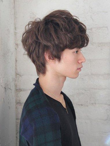 额头低的男生做什么发型好看 男内蓬发型图片 发型师姐