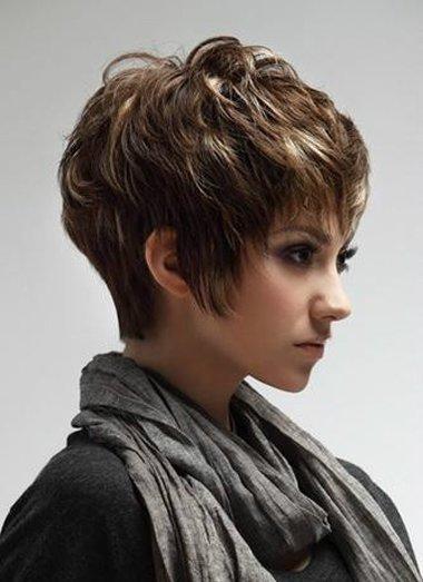 颧骨高适合沙宣短发吗 女生纹理短碎沙宣_发型师姐图片