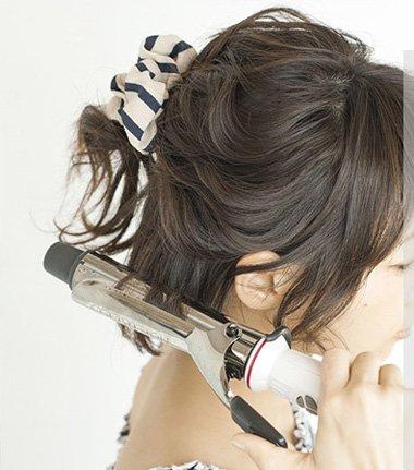 现在是短的学生头要怎样扎好看 图片 初中女生短头发的扎法(2)图片
