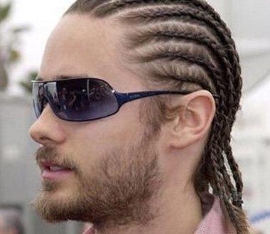 2016男生小辫子发型 男士辫子发型扎法(3)图片