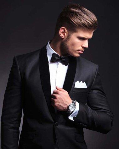 最新男生发型图片 男士西装发型(2)图片
