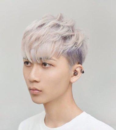 男生浅色发色_男生染什么浅色的头发好看 男染头发颜色好看