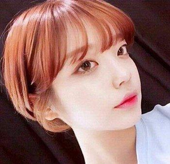 圆脸超短发适合什么颜色 超短发染色图片(2)