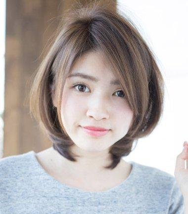 脸胖的女生适合什么短发发型 脸型胖适合怎样弄头发(2图片
