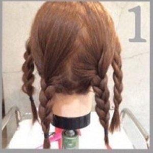 中学生发型女生短发扎法 短发学生发型图片