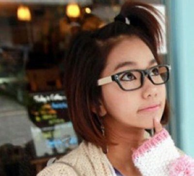 学生露耳朵短发发型 好看的女学生短发发型 发型师姐