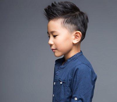 男孩时尚短发子弹头发型