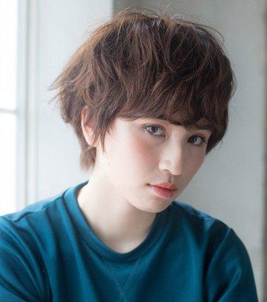 全头烫卷短发发型图片 短发要怎样卷才好看 发型师姐