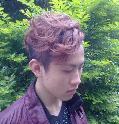 男生染发颜色种类带图的 男生染发颜色大全图片(2)