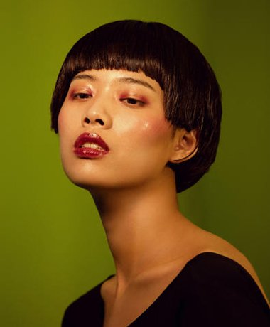 短发夏天怎么弄才利索 圆脸夏日短发发型(3)