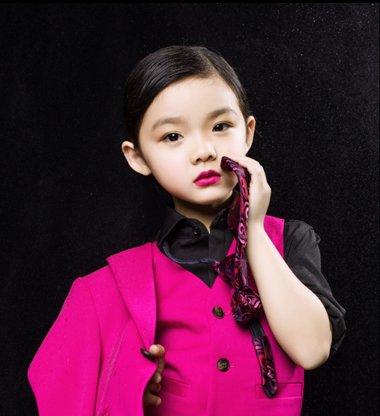 10岁女孩短发型图片 儿童短发怎样扎辫子(2)