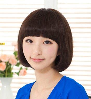 学生装沙宣短发发型 中学生沙宣