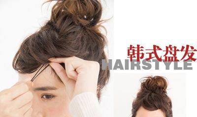 齐肩短卷发怎么扎头发 卷短发如何扎的头发好看(4)