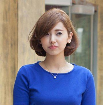 头发少的女生适合什么短发 圆脸头发少短发造型_发型图片
