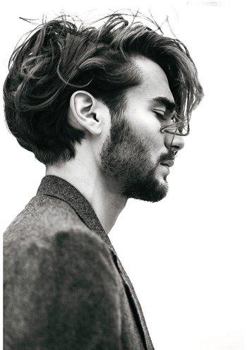 男脸肥适合什么短发 男生什么样的脸型适合剪短发(3)