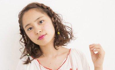 学生中短发发型扎法图解 学生短发型扎法(2)图片