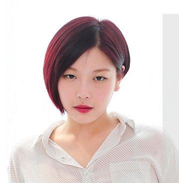 适合胖女孩的短发发型 胖子圆脸中短发发型(3)图片